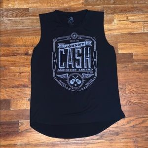 Hello I'm Johnny Cash tank top